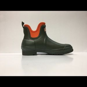 HUNTER CHELSEA CHUKKA WATERPROOF ANKLE RAIN BOOTS